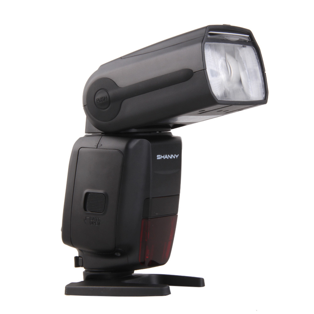 Flash Shanny 600C GN60 HSS for Canon - Tặng OMNI bouce