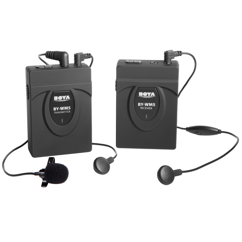 Micro thu âm BOYA-WM5 wireless