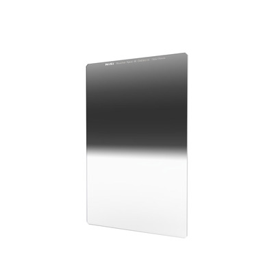 NiSi Glass 100X150mm Nano Multicoated Graduated IR Neutral Density 0.9 Hard Edge Filter (3-Stops)